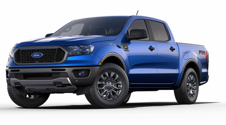 2019 Ford Ranger XLT 4WD Supercrew 5&Rsquo; BOX Truck